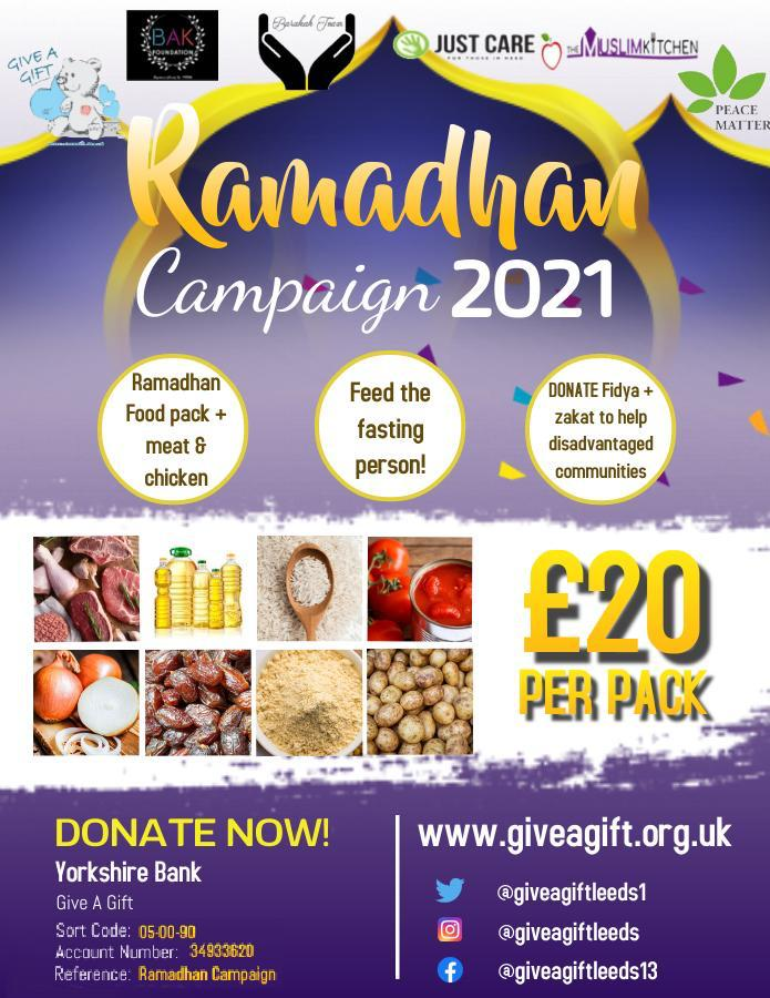 Ramadhan food pack Appeal
